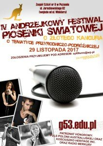 Festiwal Andrzejkowy 2017 Plakat